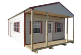 Spartan Structures builds portable cottages
