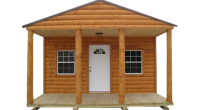 Spartan Structures offers quality built finished cabins and structures.