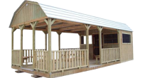 Spartan Structures builds portable party barns