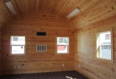 Finished Interior Room w/ White Pine Option