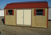 Classic Barn w/ Billy Barn Roof and T1-11 Siding.. Quality Built by Spartan Structures